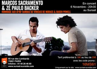 Concert Marcos Sacramento Sunset